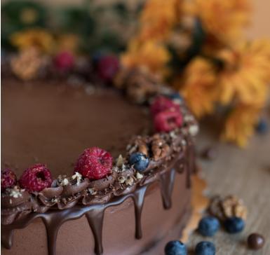 Белгийски шоколад и малини.