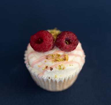 Mini vanilla cupcake