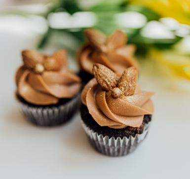 Мини кейкче шоколад