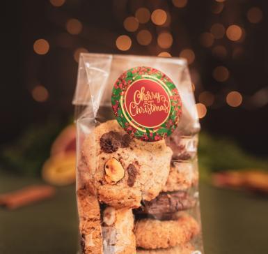 Пакетче коледни бисквити