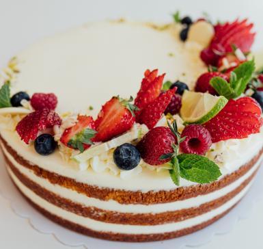 Торта Плодово лято