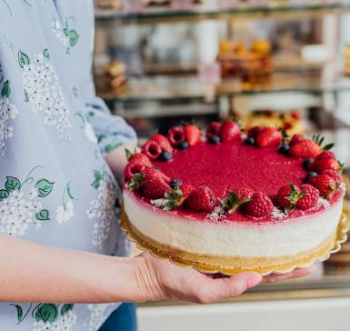 Торта Кето чийзкейк